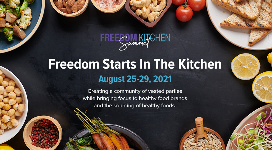 Register Today for the Freedom Kitchen Summit!