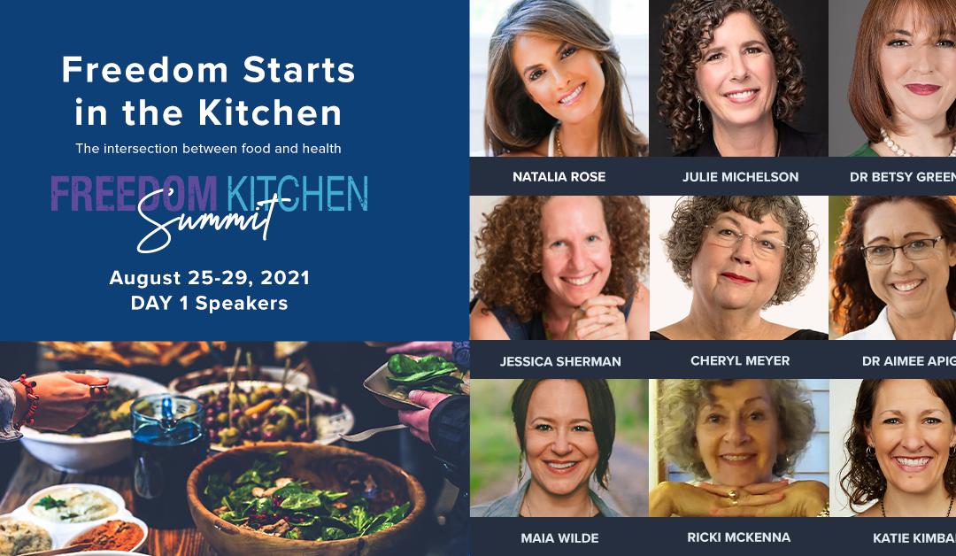 Hear my Keynote Address Today at the Freedom Kitchen Summit!
