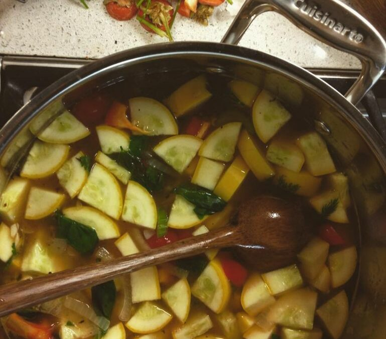 Recipe for All-Purpose Vegetable Stock
